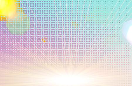Abstracte patroontextuur als achtergrond. Halftone gestippelde achtergrondtextuur. Samenvatting van feestelijke lichte achtergrond. Kopieer het ruimteconcept voor de zomer, vakantie, Pasen of andere uw inhoud. Stockfoto