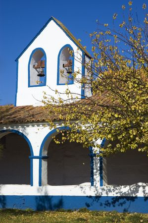Small chapel with cloister, Portugal photo