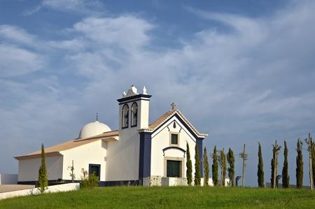 castro: Church of Santo Antonio in Castro Marim, Algarve, Portugal