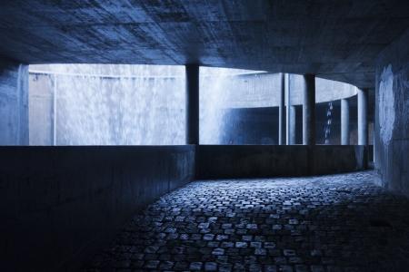 passageway: Underground passageway