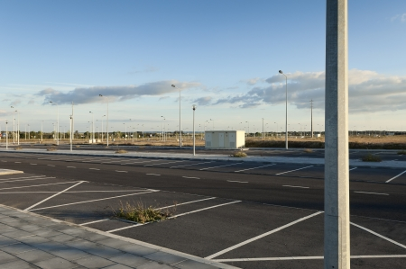 carpark: Fully infra-structured vacant lots ready for construction in the industrial park of Evora, Portugal