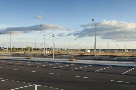 streetlight: Fully infra-structured vacant lots ready for construction in the industrial park of Evora, Portugal