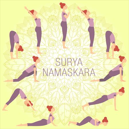 Surya Namaskar Complex Çizim