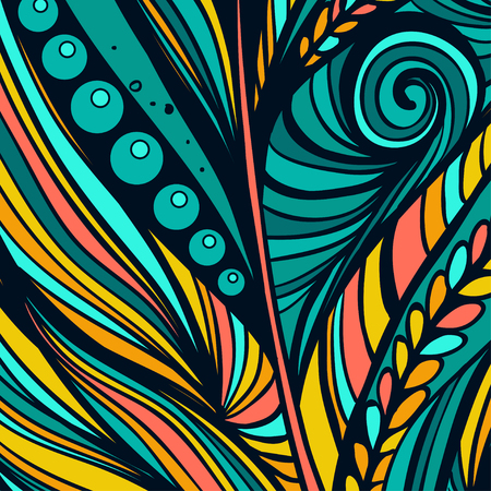 squiggle: Colorful abstract background