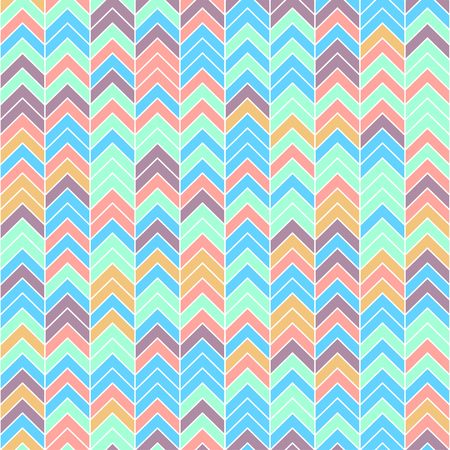 Seamless pattern of geometric figures. Abstract seamless colorful background Illustration