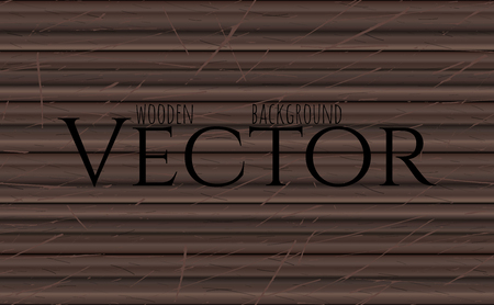 siding: Wood texture, vector Eps10 illustration. Natural Ebony Wooden Background.