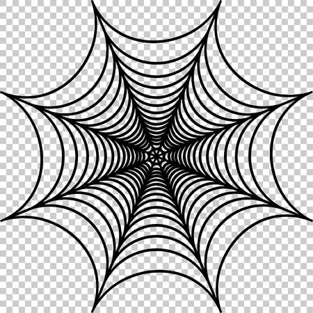 Vector illustration de cobweb