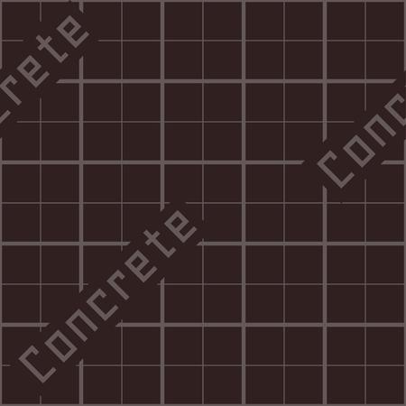 Concrete formwork seamless texture Illustration