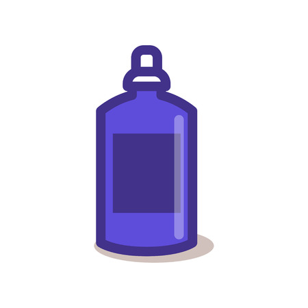 Bottle outline icon. For menu cafe takeaway, icons for cafe, app, packaging