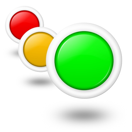 Consumpion, energy and environment multipurpose concept empty buttons photo