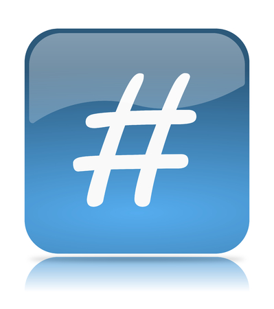 tweet: Blue Tweet App Icon Illustration on White Background