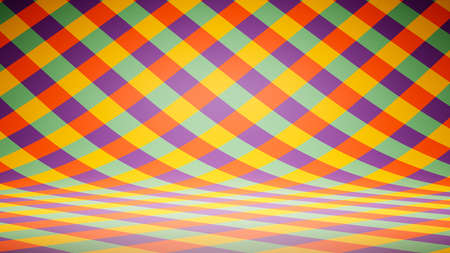 Empty Blank Colorful Striped Pattern Studio Background