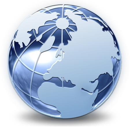 holding globe: Il globo � incredibile, fantastica composizione e atmosfera