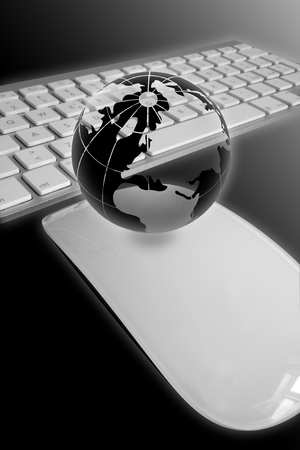 The globe is incredible, fantastic composition and atmosphere Stock Photo - 9103347
