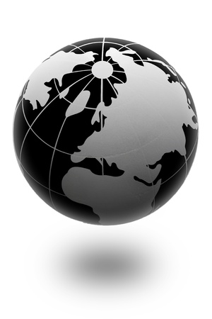 The globe is incredible, fantastic composition and atmosphere Stock Photo - 9103337