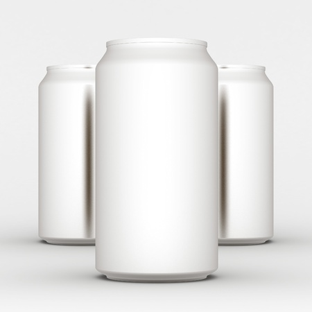 Image sealed aluminum can with a drink Stock Photo - 10172758