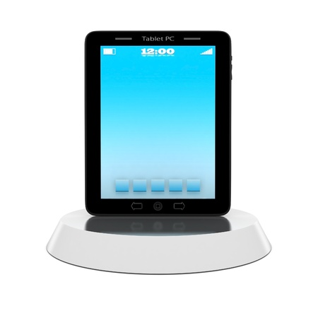 umpc: 3D image of the beautiful icons on white background