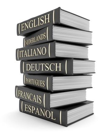 Picture Seiten, Books Bindungen und Literatur Lizenzfreie Bilder