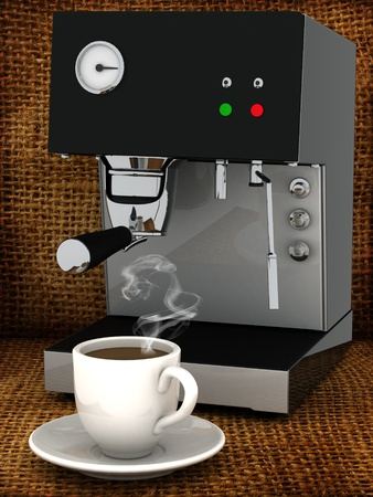 Foto Tassen Tee mit Zucker, gemacht? In den frühen Morgenstunden