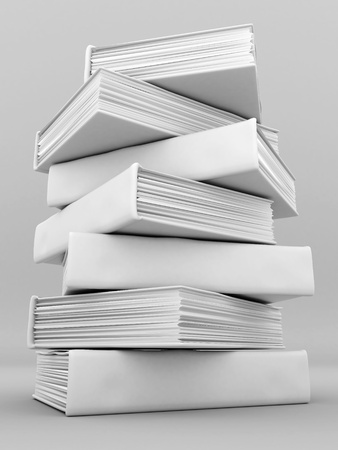 bindings: Picture pages,  Books bindings and Literature Stock Photo