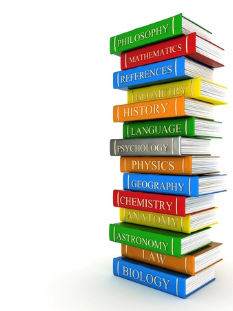 Picture pages, books bindings and Literature Stock Photo - 11254981