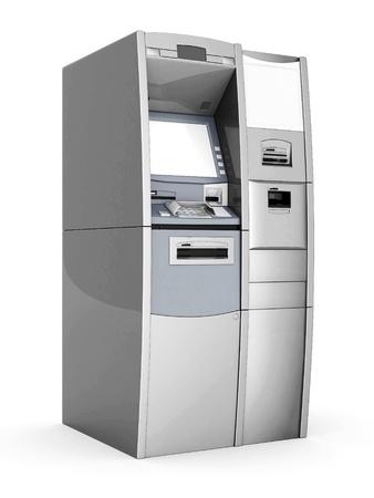 Bild des neuen ATM auf weißem Hintergrund