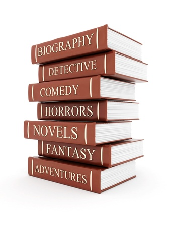 comedic: Picture pages,  Books bindings and Literature Stock Photo