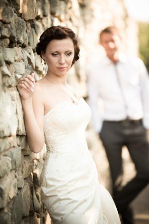wedding photography is very beautiful couple Stock Photo - 21772924