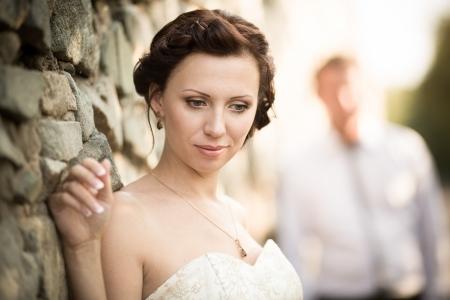 wedding photography is very beautiful couple Stock Photo - 21772925