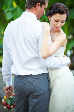 wedding photography is very beautiful couple Stock Photo - 21772927