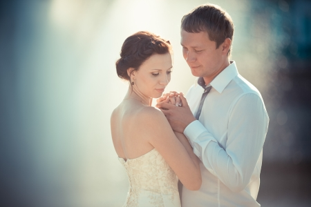 wedding photography is very beautiful couple Stock Photo - 21772928