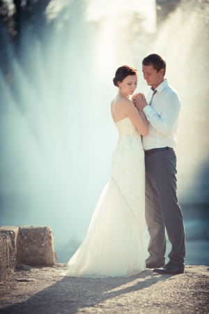 wedding photography is very beautiful couple Stock Photo - 21772942
