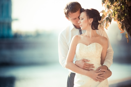 wedding photography is very beautiful couple Stock Photo - 21772988