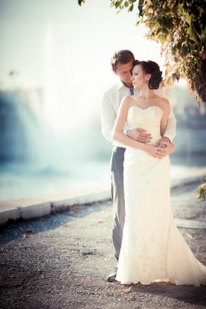 wedding photography is very beautiful couple Standard-Bild