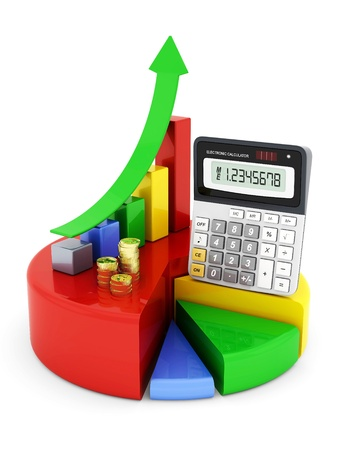 analytic: Business finance, statistics, analytic, tax and accounting Stock Photo
