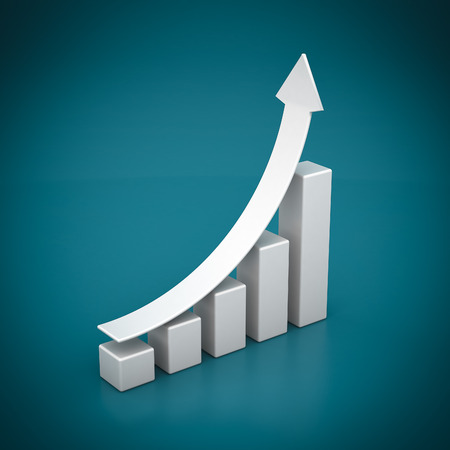 analytic: Finanzas empresariales, estad�sticas, anal�tico, fiscal y contable Foto de archivo