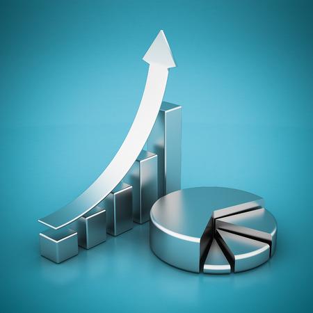 Unternehmensfinanzierung, Statistiken, analytisch, steuerlichen und buchhalte Standard-Bild - 40157168