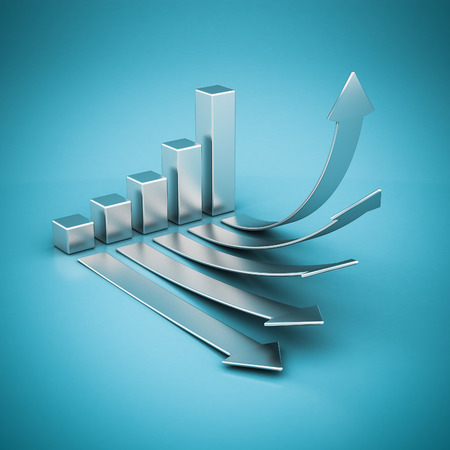 Business finance, statistics, analytic, tax and accounting Standard-Bild