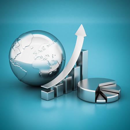 Unternehmensfinanzierung, Statistiken, analytisch, steuerlichen und buchhalte Standard-Bild - 40157178