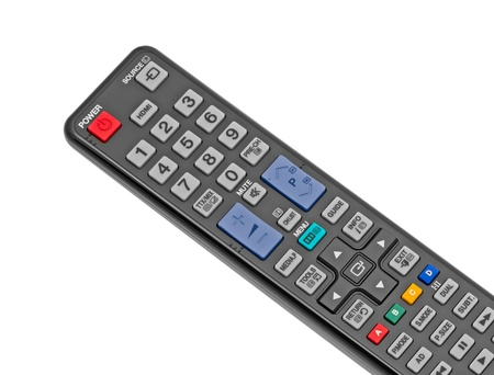 Remote control isolated on the white background Stock Photo - 9833810