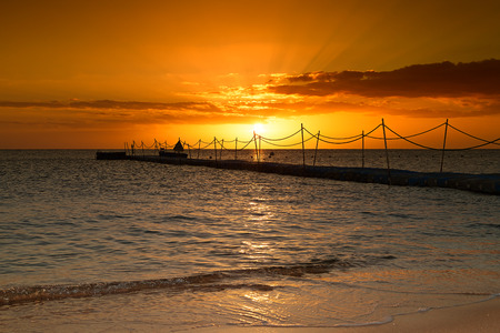 red sea: Beautiful sunrise over the Red Sea. Egypt. Stock Photo