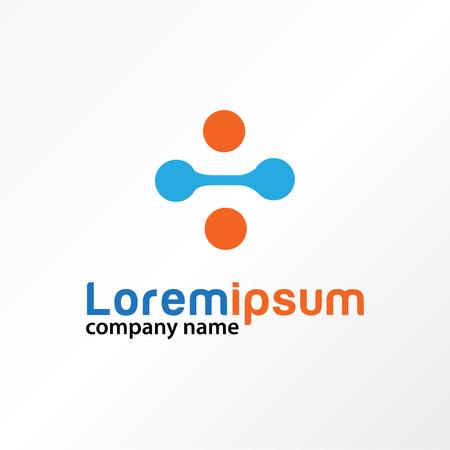 data tech science logo template