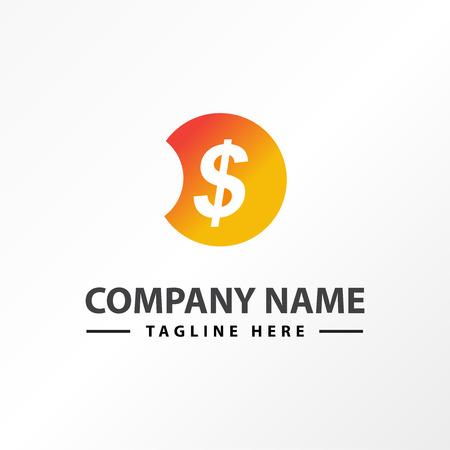 money dollar income finance logo template