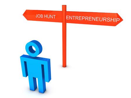 Job or Entrepreneurship photo