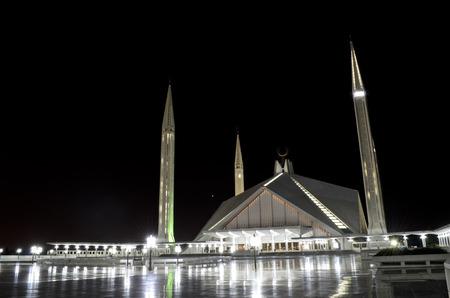shah: Shah Faisal Mosque Islamabad