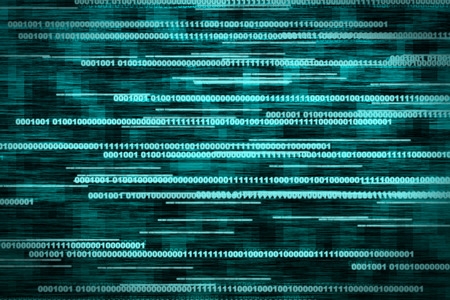 processing speed: Digital Binary Background Stock Photo