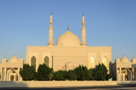 sharjah: Aldhiya Mosque Sharjah UAE Editorial