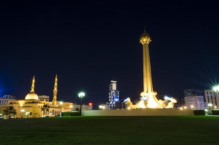 sharjah: Al Itihad park Sharjah UAE Editorial