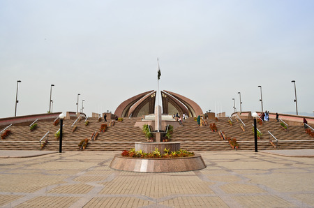 places of interest: Pakistan Monument Islamabad