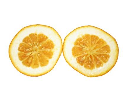 pulpy: Cut Orange Stock Photo